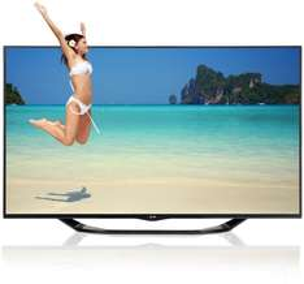LG 60LA7408 152 cm (60 Zoll) Cinema 3D LED-Backlight-Fernseher, EEK A+ (Full HD, 800Hz MCI, WLAN, DVB-T/C/S, Smart TV) schwarz inkl. 3D Camcorder