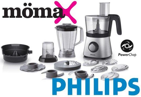 Philips Küchenmaschine HR7769/00 für nur 85€ versandkostenfrei bei @mömax.de