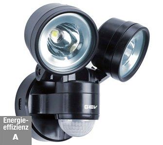 LED Strahler mit Bewegungsmelder / GEV LED-Strahler 230 V LLL 14718