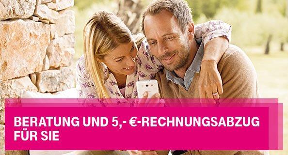 [Telekom] 5€ auf nächste Festnetz Rechnung sparen durch Gratis-Beratung