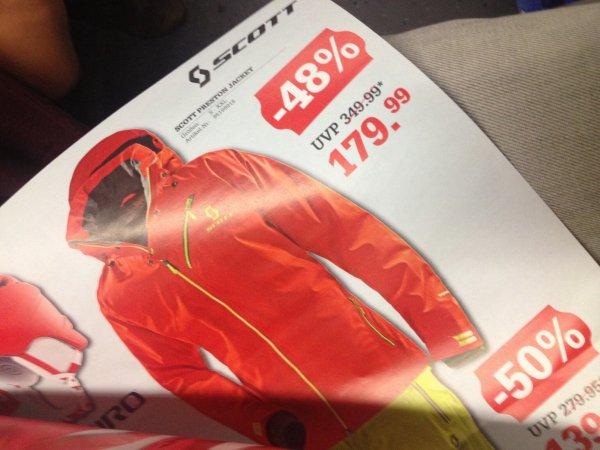 [Lokal]DER Deal des Quartals !  Scott Preston Jacket - GTX ! 179€ (Naechster Idealo: 349€) München Bittl