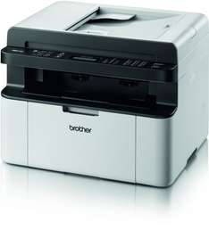 "Brother™ - S/W Multifunktions-Laserdrucker ""MFC-1810"" (1200x600dpi,Drucker/Scanner/Kopierer/Fax,USB) für €104.- [@GetGoods.de]"