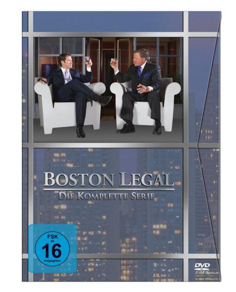 Boston Legal - Die komplette Serie [27 DVDs] @ Amazon