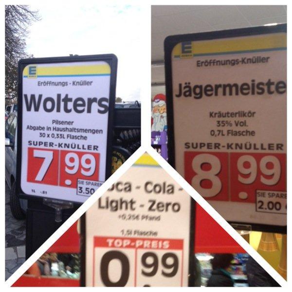 [LOKAL - Broistedt] Neueröffnungsangebote: Coca Cola, Jägermeister, Wolters