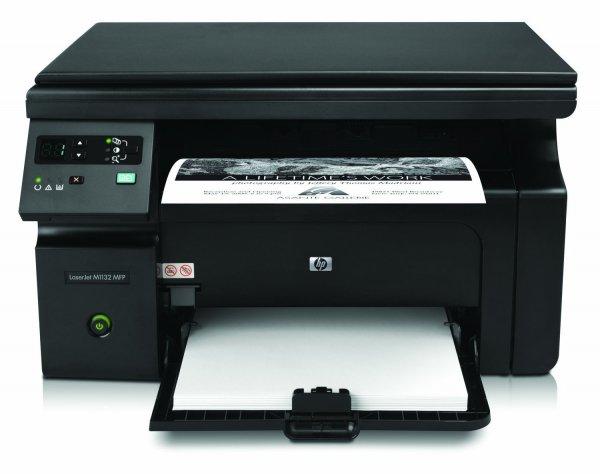 HP LaserJet Pro M1132 All-in-One Laser Multifunktionsdrucker (A4, Drucker, Scanner, Kopierer) für 84,05 € @Amazon.it