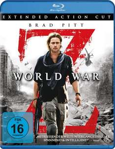 [ LOKAL Saturn Duisburg ]   World War Z  mit Brad Pitt [Blu-ray]