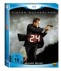 24 - Season 7 (6 Blu-rays) [Blu-ray]  für 14,97 € @ amazon.de
