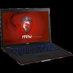 "[ZackZack] Gaming-Notebook i7, 17,3"", GTX 765M ""GE70-i765M245FD"""