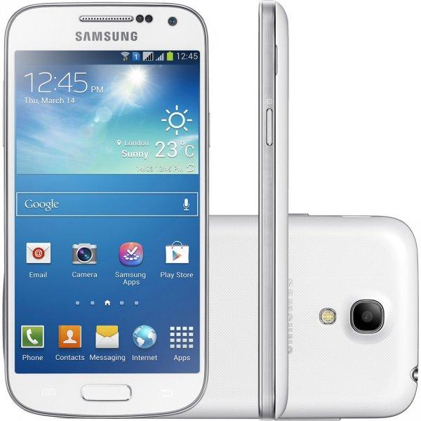 Samsung Galaxy S4 mini DUOS (weiß) aus Deutschland, ohne Branding: 306,40€