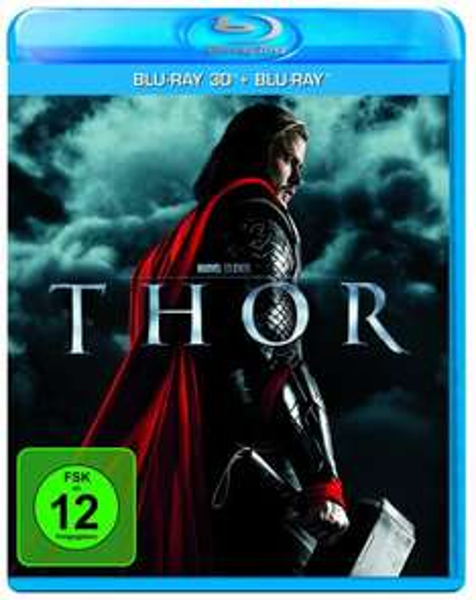 Thor (inkl. 2D Blu-ray) [3D Blu-ray] für 14,90 EUR @ Amazon.de