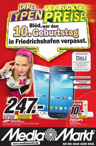 [LOKAL] MM Friedrichshafen: Samsung Galaxy S4 mini für 247,- €