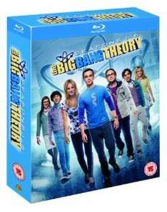 [Amazon.co.uk] The Big Bang Theory Staffel 1-6 Blu-ray englisch