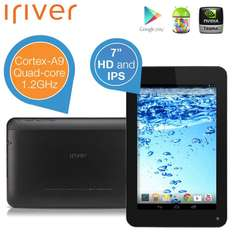 "iriver 7"" Quad-Core WOW-Tablet mit IPS-Display und Android 4.1 Jelly Bean OS"