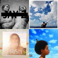 "CD - Katy Perry ""Prism"",Drake ""Nothing Was The Same"",Jack Johnson ""From Here To Now To You"",Jay-Z ""Magna Carta... Holy Grail"" für je €8,25 [@Play.com]"