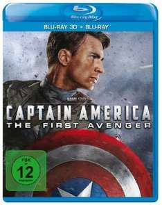[amazon.de] Captain America - The First Avenger (inkl. 2D Blu-ray) [3D Blu-ray]