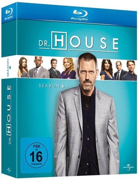 Dr House Staffel 6 [Blu-Ray] für 14,99€  Buch.de
