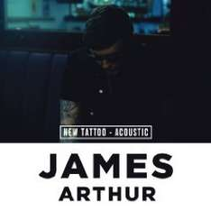 Amazon: gratis Mp 3 : James Arthur - New Tattoo (Acoustic)