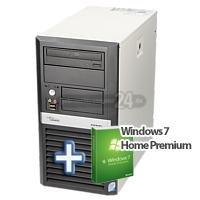 [refurbished] Fujitsu Siemens Esprimo P5720 PC + Windows 7 Home Premium