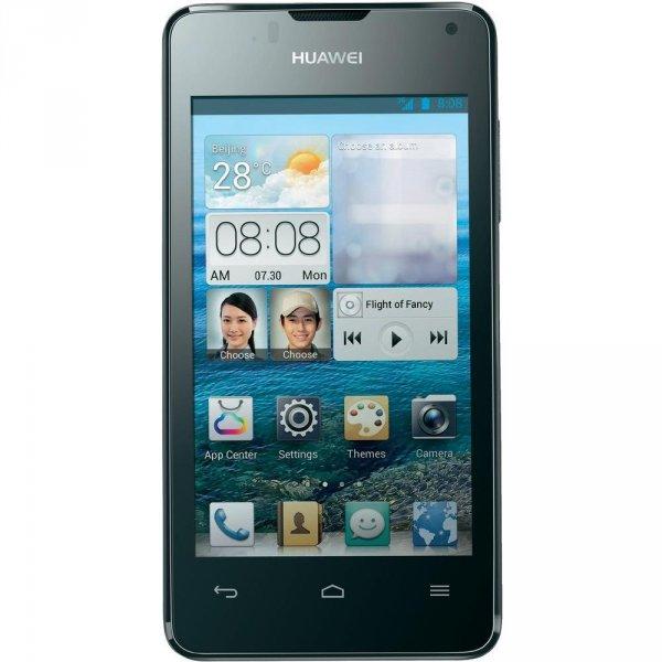 "Huawei Ascend Y300, 4"" Display, 1 GHz Dual-Core, JB 4.1 (B-Ware) für 70€ @Conrad"