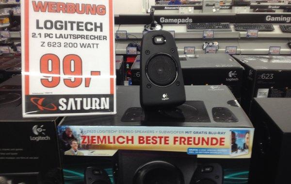 """[lokal Oldenburg (Oldb.)] Logitech Z623 + Blu-Ray """"Ziemlich beste Freunde"""" 99 € / Idealo 109 € ohne Blu-Ray"""