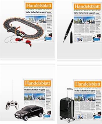 1 Monat Handelsblatt Kurzabo für 999 Webmiles + Geschenk | selbstkündigend