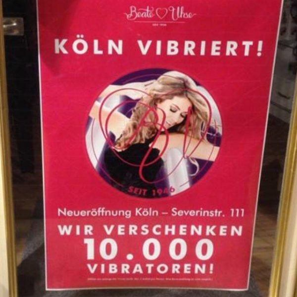 [Köln] 10.000 Vibratoren kostenlos