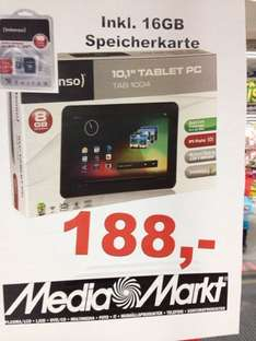 Intenso Tab 1004 incl. 16GB Karte [ LOKAL MM / DORSTEN ]