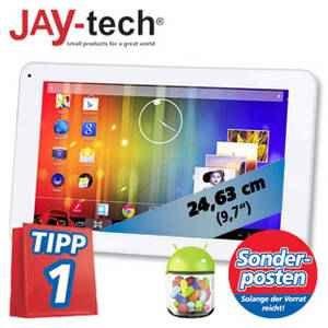 Jaytech, Tablet PC, 24,62 cm (9,7 Zoll), 8 GB, A20 Cortex A7 Dual-Core 1,5 GHz