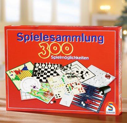 Schmidt 49127 - Spielesammlung mit 300 Spielmöglichkeiten für 9.99€ bei Kaufland