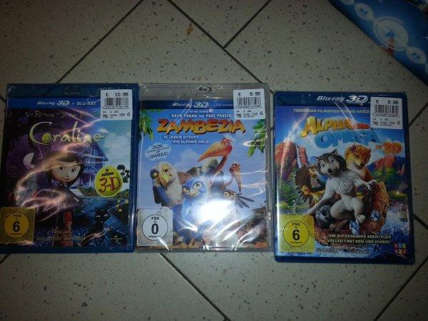 ** Zambezia und noch andere 3D Blu-rays zu günstigen Preisen im real Neumuenster evtl bundesweit **