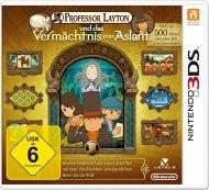 3DS - Professor Layton und das Vermächtnis von Aslant @buecher.de für 34€