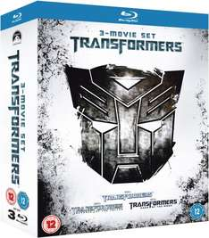 (UK) Transformers - Trilogy  [3 x Blu-ray] für ca. 16.76€ @ Zavvi