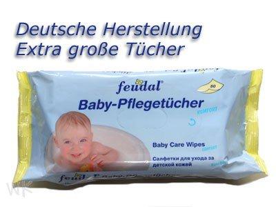 [offline] Posten Börse ab Montag 11.11.13 Feudal Baby Pflegetücher 12 x 70 Stück für 5 Euro - deutschlandweit -