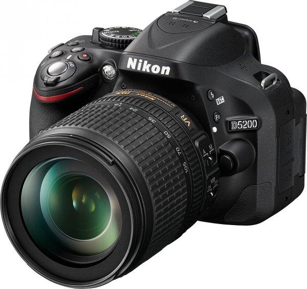 [ebay] Nikon D5200 schwarz Kit AF-S DX 18-105mm VR