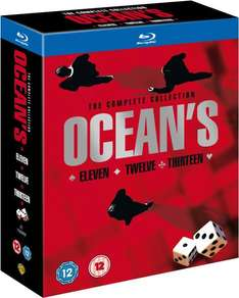 Oceans Trilogy [Blu-Ray Box] @ Zavvi 11,90€