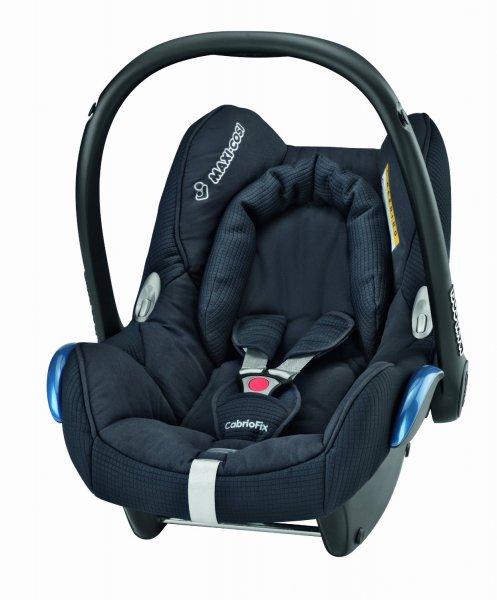 Maxi-Cosi CabrioFix Total Black (Babyschale) @ Amazon.co.uk ~98,97€ [Idealo 155,89 EUR]