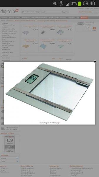 Digitalo X4-Life Design-Multifunktionswaage