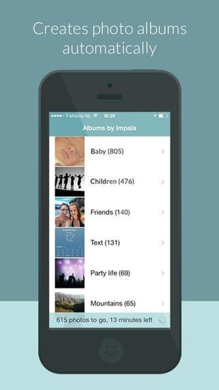 [ iOS / IPhone ] Impala - Kategorisiert Bilder auf wünsch in der Camera Roll - funzt erstaunlich gut