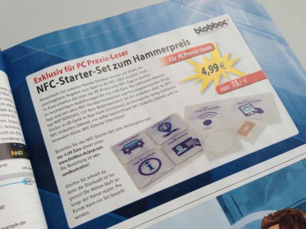 blobboc NFC Starterset für 4,99€ statt 15€