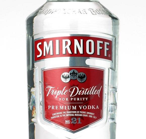 Smirnoff Vodka Red Label + Edeka Milder Apfel 1l @ EDEKA Südwest