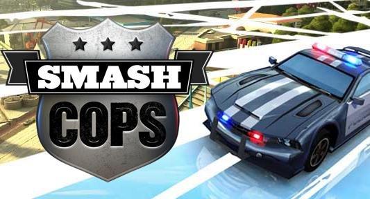 Smash Cops iOS (Universal App) für 89 Cent statt 4,49€