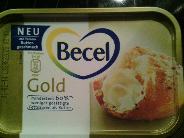 ( LOKAL DRAGE evtl. bundesweit?) Becel Gold Margarine