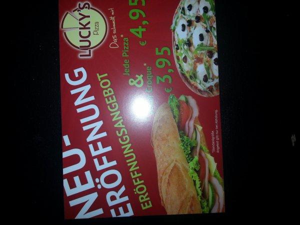 Alle Croques 3,95€  Pizzen 4,95€ @Hamburg-Hoheluft