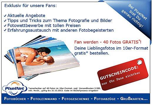 40 Fotos im 10er Format für 2,95€