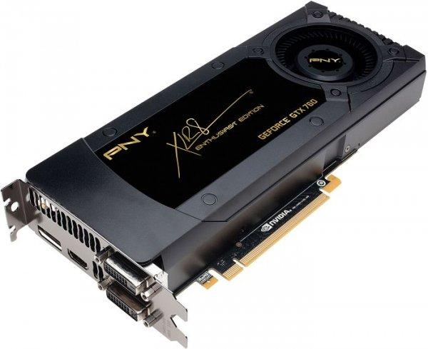 PNY GeForce GTX 760 - 2 GB GDDR5 für 189,90€