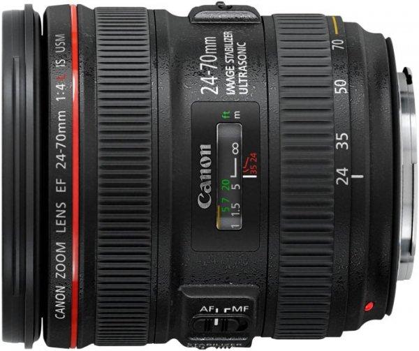 Canon EF 24-70 F4 L IS USM bei Cyberport für 984,24 EUR - 9,84 EUR Qipu und 5EUR Gutschein