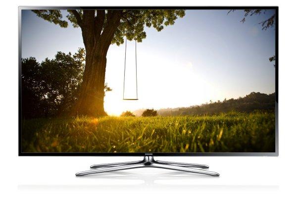 Samsung UE55F6470 138 cm (55 Zoll) 3D-LED-Backlight-Fernseher, EEK A+ (Full HD, 200Hz CMR, DVB-T/C/S2, CI+, WLAN, Smart TV, HbbTV, Sprachsteuerung) schwarz  @meinpaket