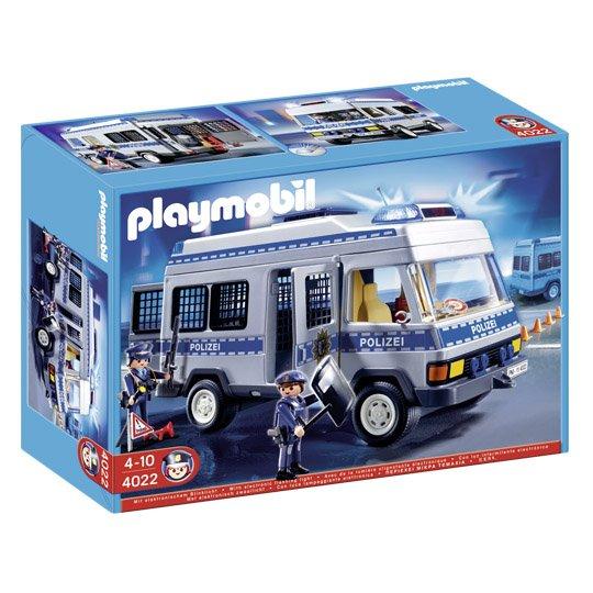 Playmobil  4022 Polizei-Mannschaftswagen @real 19,99€