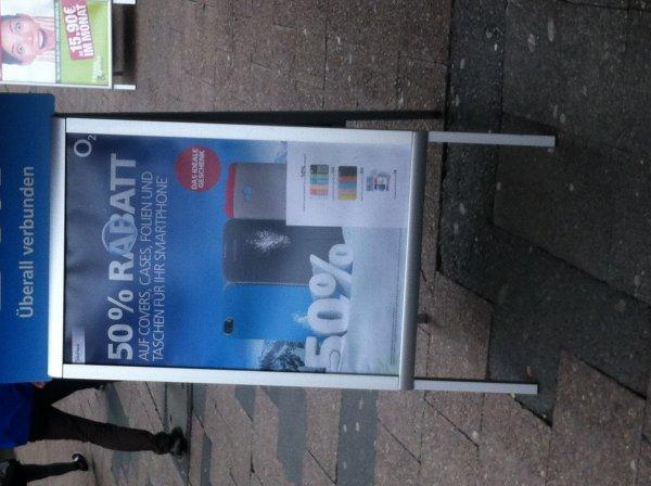 Günstige Covers, Cases, Folien und Taschen bei O² in Hannover!