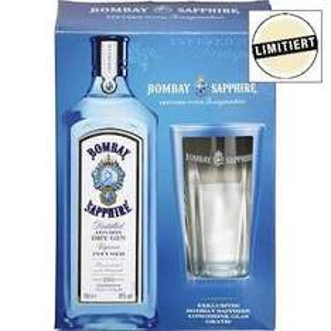Metro - Bombay Sapphire 0,7l + 1 Glas im Set 15,46 €
